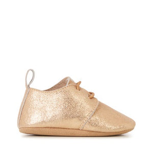 Allora Rose Gold Baby Bootie