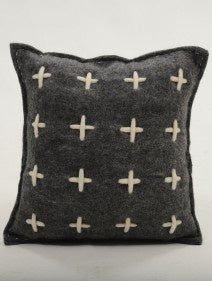 Large Grid Cushion