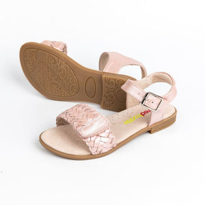 Lily Adjustable Leather Sandal