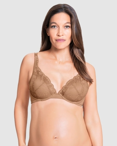 Truffle Bra- Brown