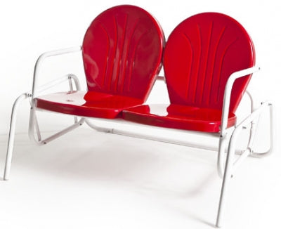 Red Bellaire style retrometal double glider