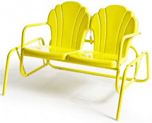 Load image into Gallery viewer, Torrans Parklane 4 piece Retro Patio Glider & Chairs Set