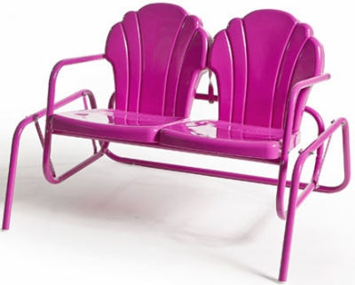 Torrans Parklane Retro Metal Double Patio Glider