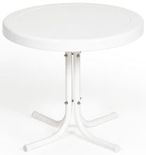 Load image into Gallery viewer, Torrans Parklane Retro Patio Side Table (White Only)