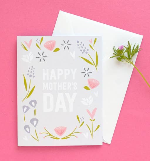 Mother's Day Blooms Greeting Card