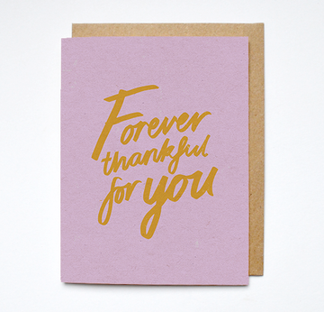Forever Thankful Card