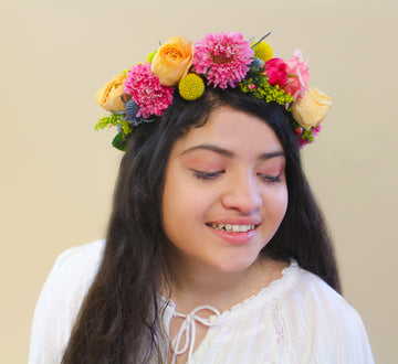 The Frida Flower Crown