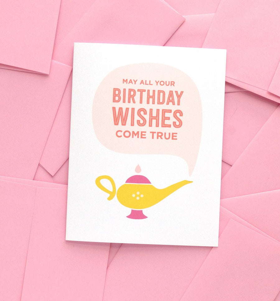 Magic Lamp Birthday Card