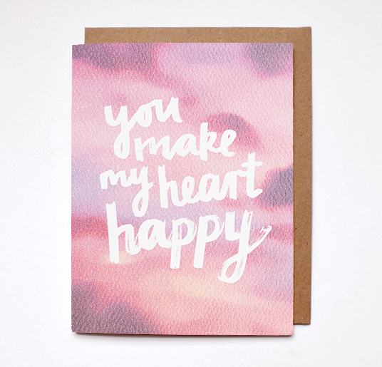 Happy Heart Card