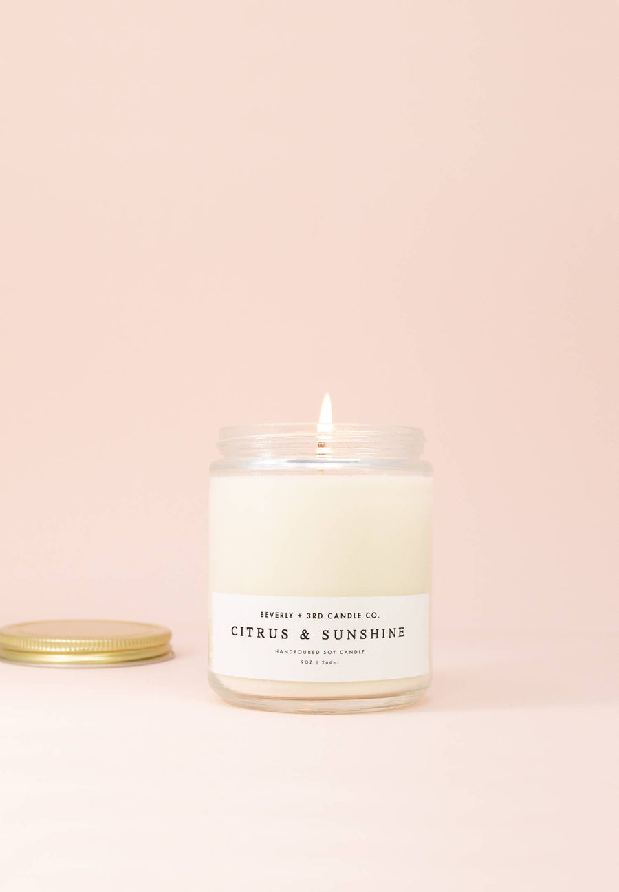 Citrus & Sunshine Candle - 9 oz.