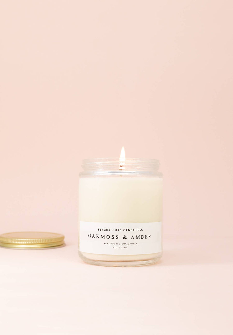 Oakmoss & Amber Candle - 9 oz.