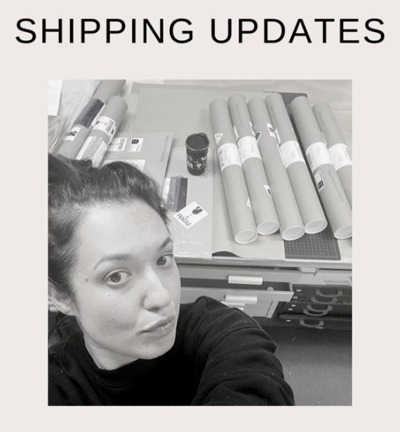 Simply...thank you (Shipping Updates)