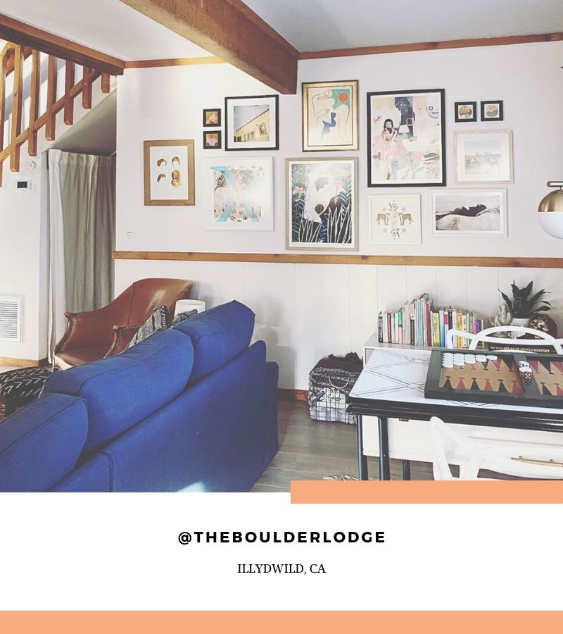 THE BOULDER LODGE, ILLYDWILD CALIFORNIA