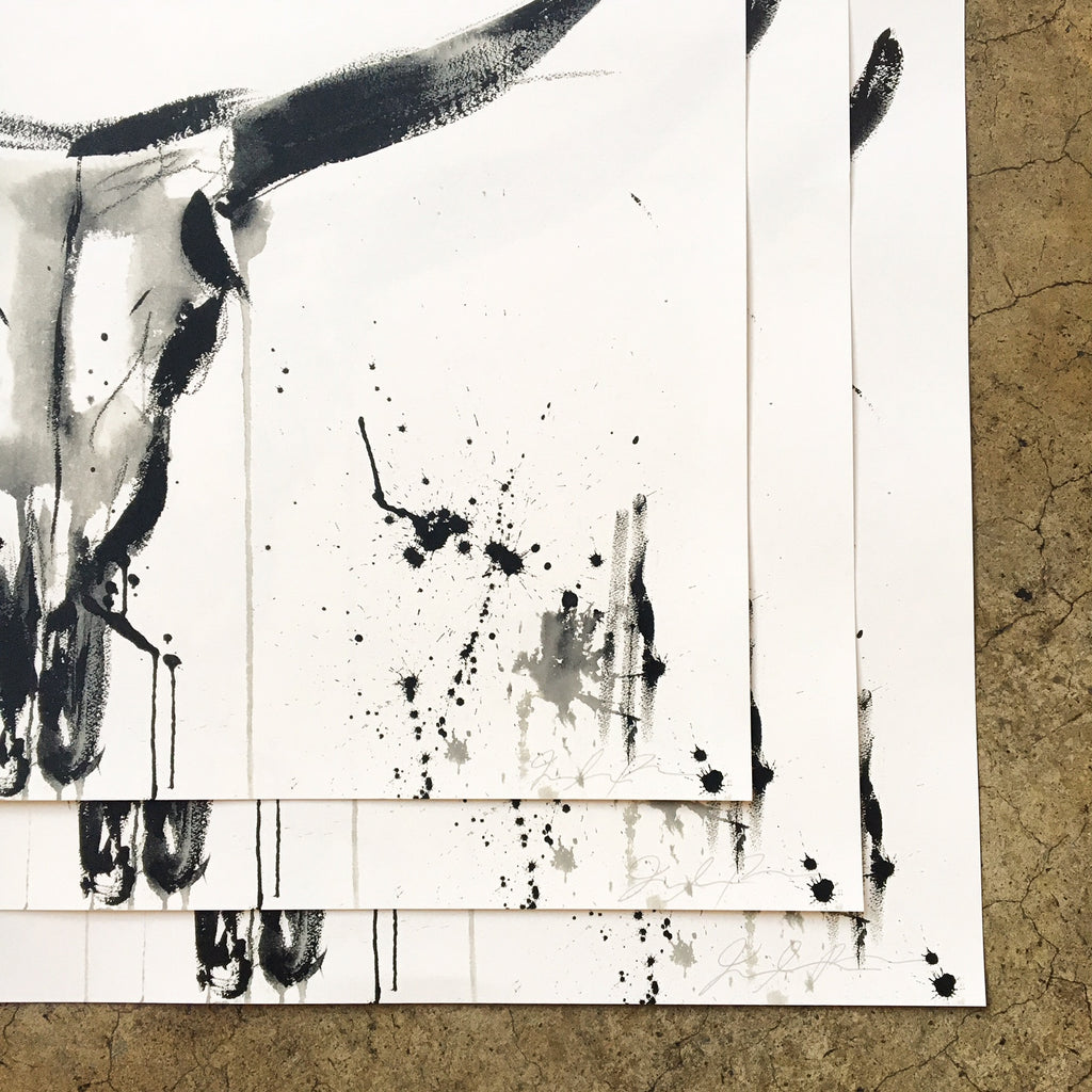 jenna snyder phillips prints, bull, toro
