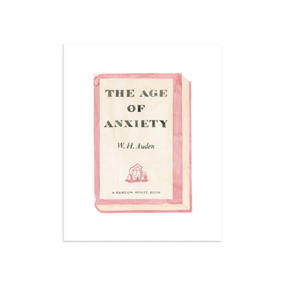 Age of Anxiety by Meghann Stephenson | Print | Poster Child Prints