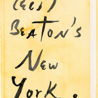 Cecil Beaton's New York by Meghann Stephenson | Print | Poster Child Prints