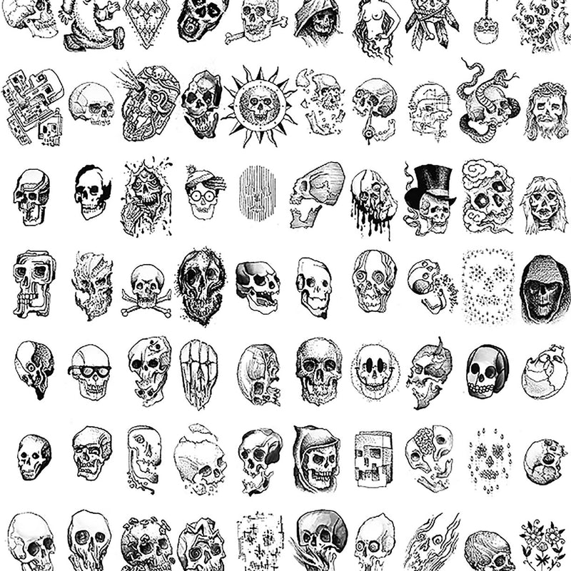 100 Skulls by Nathan Kostechko | Archive | Poster Child Prints