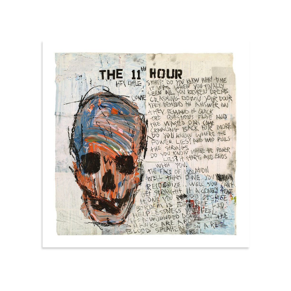 The 11th Hour by Tim Armstrong | Archive | Poster Child Prints