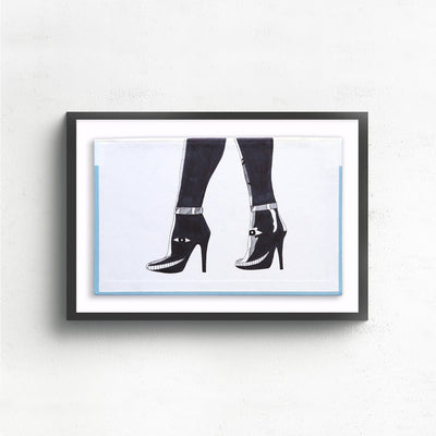 Legs is a newOriginal Artwork by Albert Reyes | Poster Child Prints