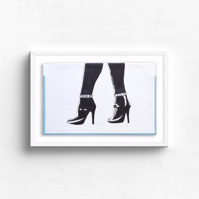Legs by Albert Reyes | Original Artwork | Poster Child Prints