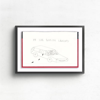 My Car is a newOriginal Artwork by Albert Reyes | Poster Child Prints