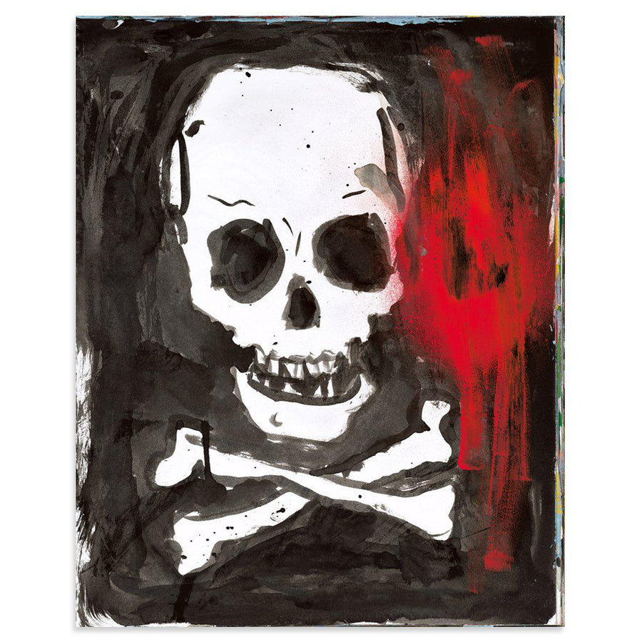 Halloween Skull is a newPrint by Tim Armstrong | Poster Child Prints