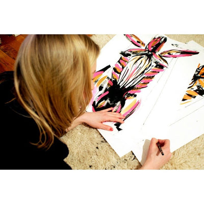 Jenna Snyder Phillips | Zulu | Zebra Art