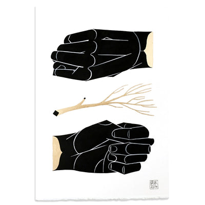 Opposite 1 by Basik | Original Artwork | Poster Child Prints