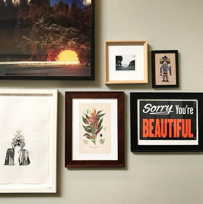 Sorry You're Beautiful 2.0 is a newPrint by Michael Coleman | Poster Child Prints