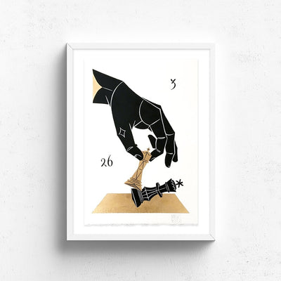 Checkmate! by Basik | Original Artwork | Poster Child Prints