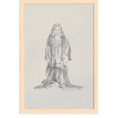 Native American Child by Found Art | Found Art | Poster Child Prints