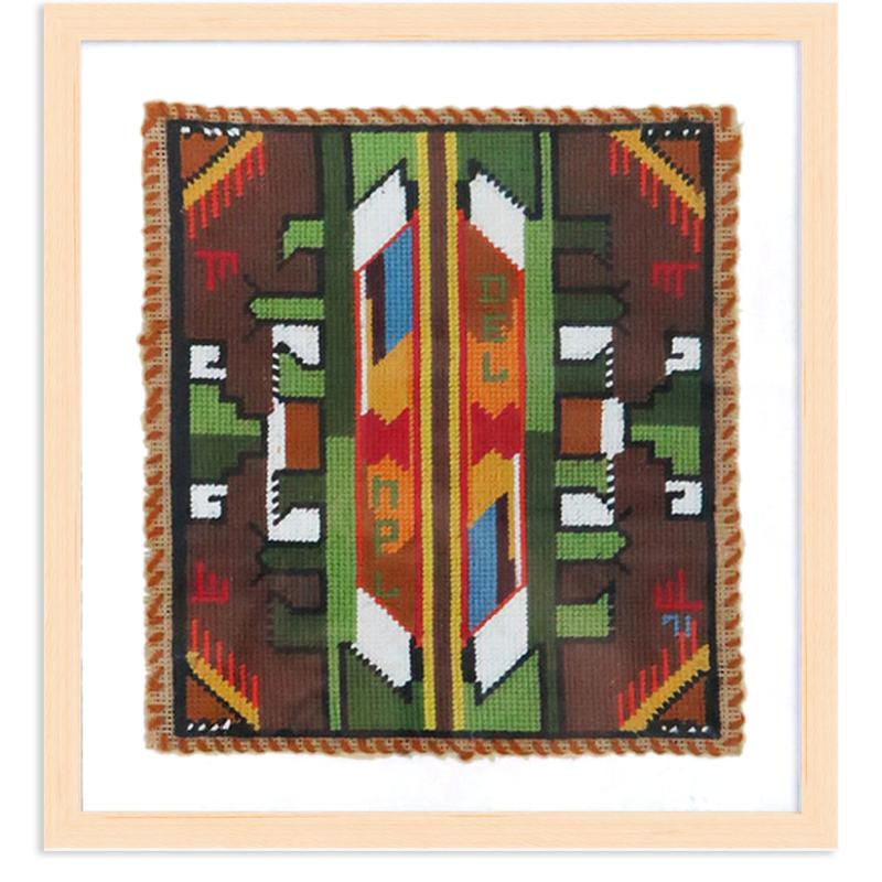 Native American Needlepoint by Found Art | Found Art | Poster Child Prints
