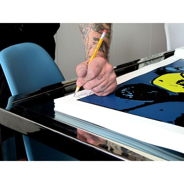 Tim Armstrong | Poster Child Prints | My Operation Ivy Guitar (Color)