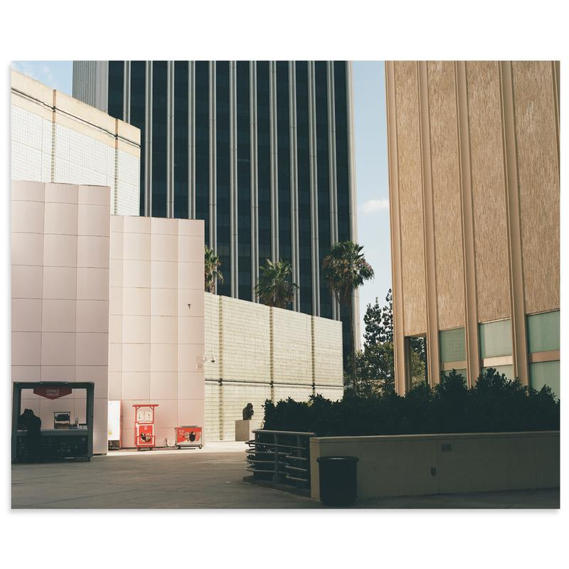 A Color View of L.A. by Karl Hab | Print | Poster Child Prints