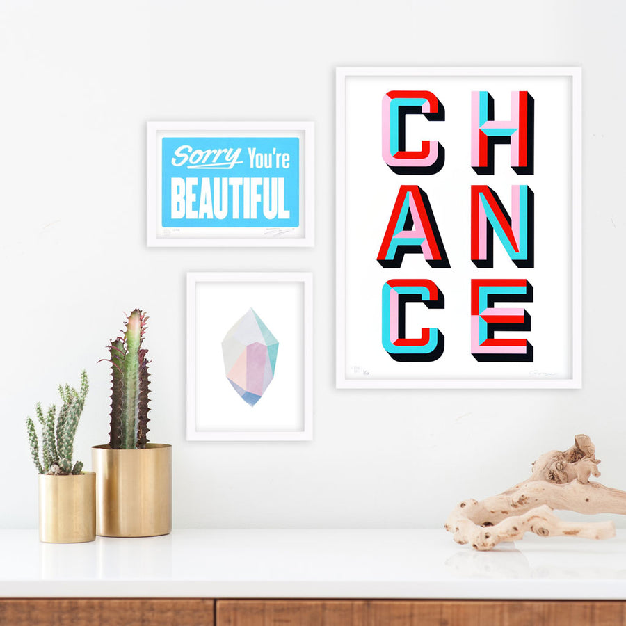 ASVP | Poster Child Prints | CHANCE
