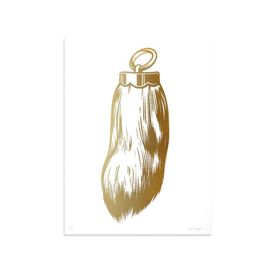 Rabbits Foot (Gold) by ASVP | Print | Poster Child Prints