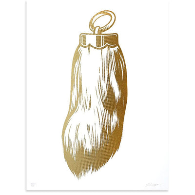 Rabbits Foot (Gold), ASVP | Poster Child Prints