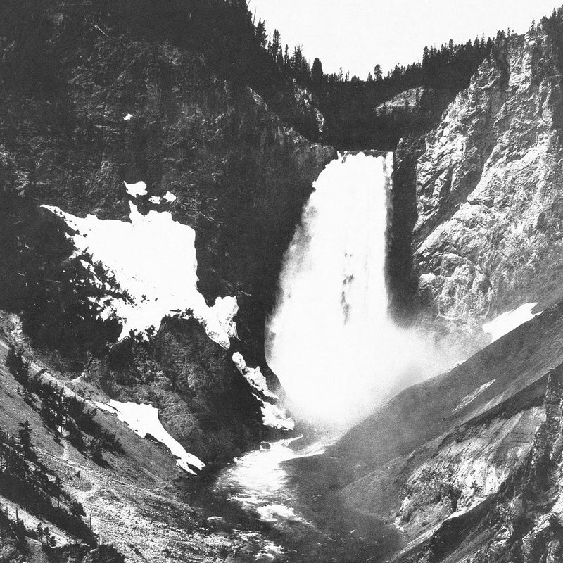Yellowstone Falls by Found Art | Found Art | Poster Child Prints