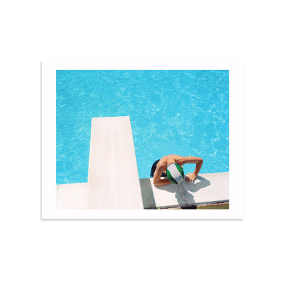 Noah Swimming by Benjamin Rasmussen-Print-Poster Child Prints