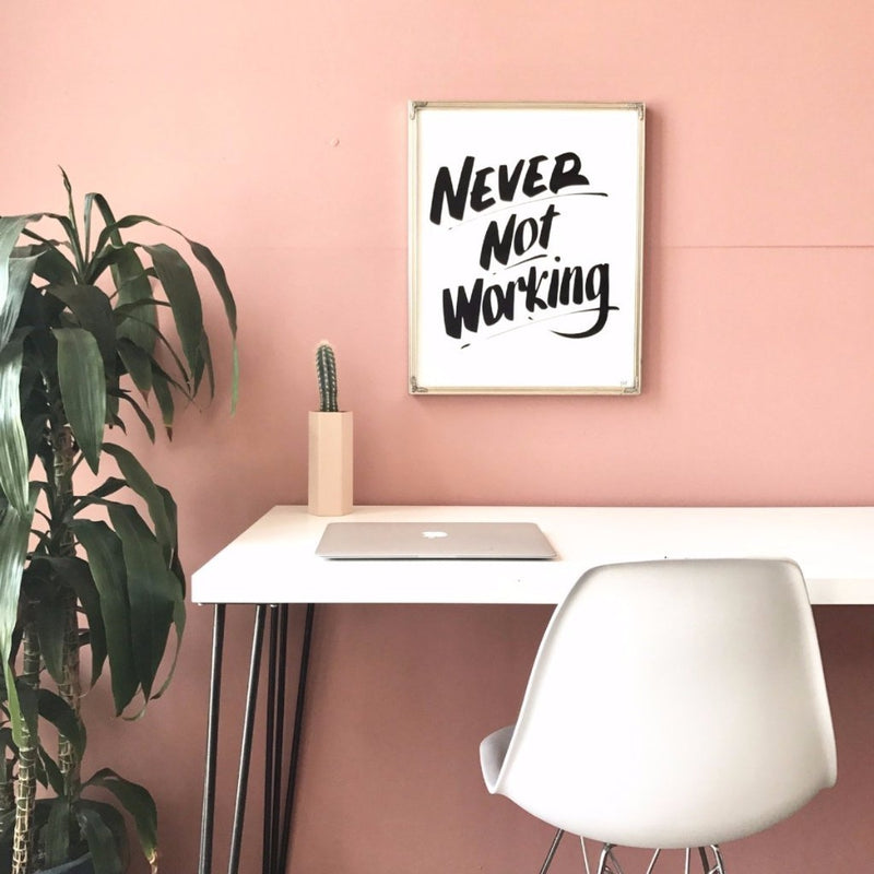 Never Not Working by Baron Von Fancy-Print-Poster Child Prints