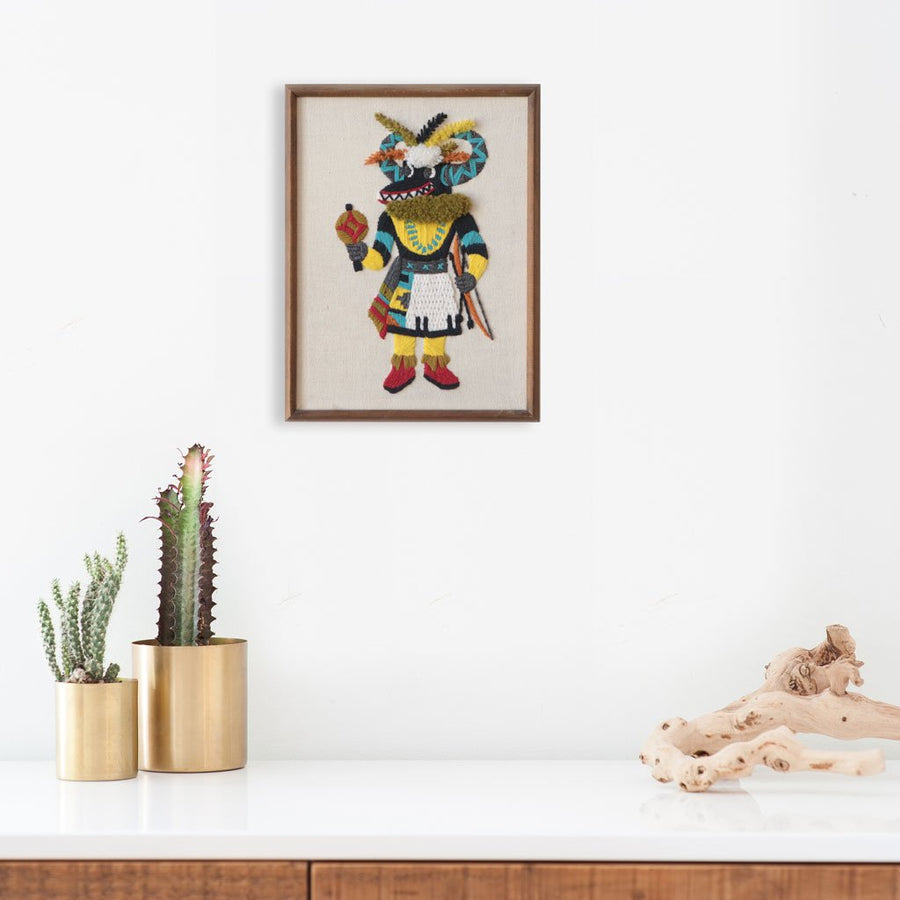 Black Ogre Kachina | Found Art | Found Art | Poster Child Prints