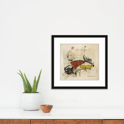 Boats | Poster Child Prints | Found Art | One of a Kind