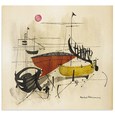 Boats, Found Art | Poster Child Prints