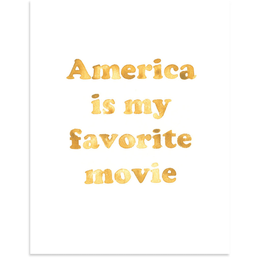 America is My Favorite Movie