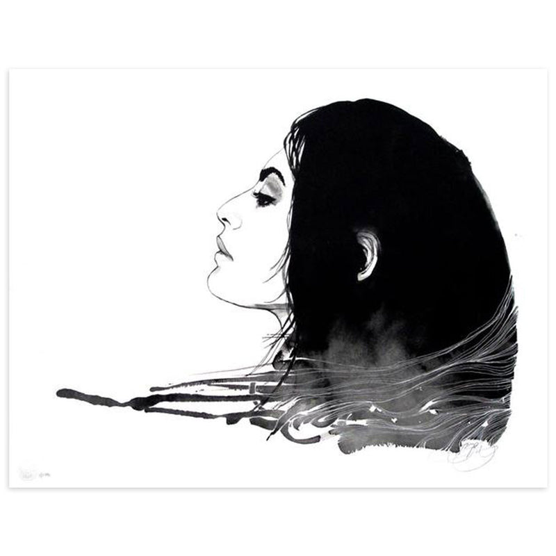 Segovia In Profile - Archive by Brandon Boyd-Archive-Poster Child Prints