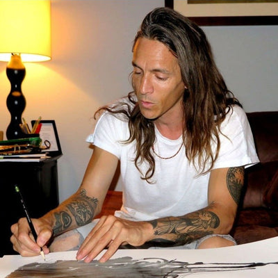 Segovia In Profile | Brandon Boyd | Watercolor Art | Segovia Amil