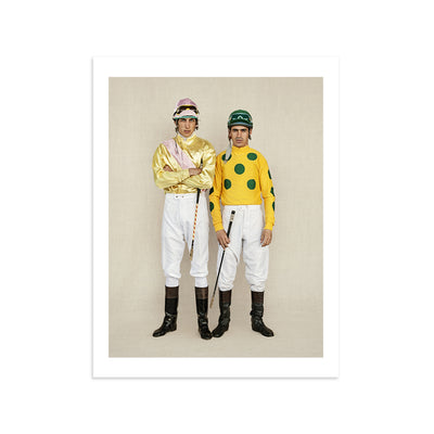 2 Jocks by Christoph Brown | Print | Poster Child Prints