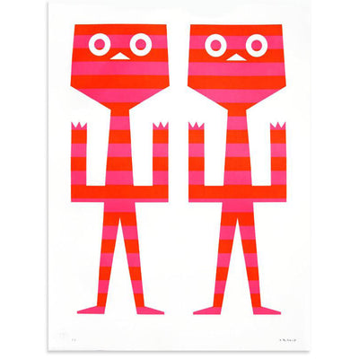Calli Twins, Tim Biskup | Poster Child Prints