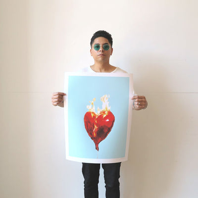 I Love You is a newPrint by Castro Frank | Poster Child Prints