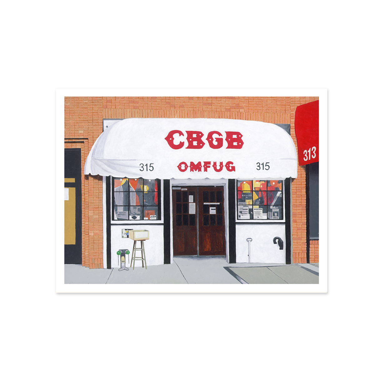 CbGB Bar | Giclee | Limited Edition Prints | Storefront Series
